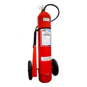 10Kg Sobre ruedas – Extintor Co2