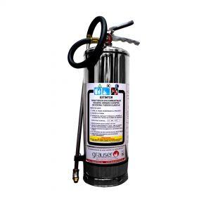 6Lts – Extintor portátil Acetato de potasio (Clase K)