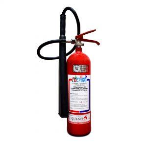 3.5Kg – Extintor portátil Co2