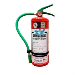 4Kg / 8Kg – Extintor portátil Halotrón